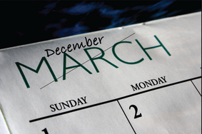 December is the new March