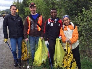 Litter clean up to celebrate Earth Day