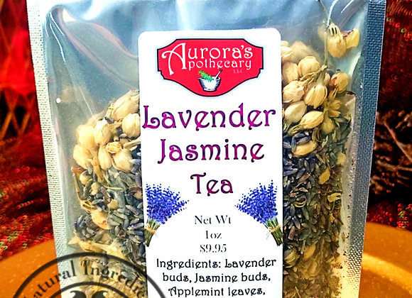 10 pcs Lavender Jasmine Tea 1oz