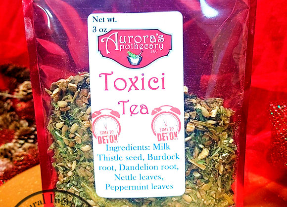 10 pcs Toxici Tea 3oz