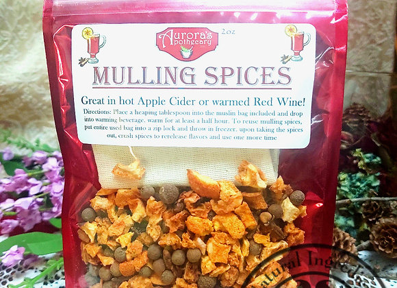 10 pcs Mulling Spices 2oz