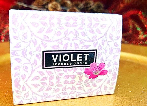 Incense Cones - Violet