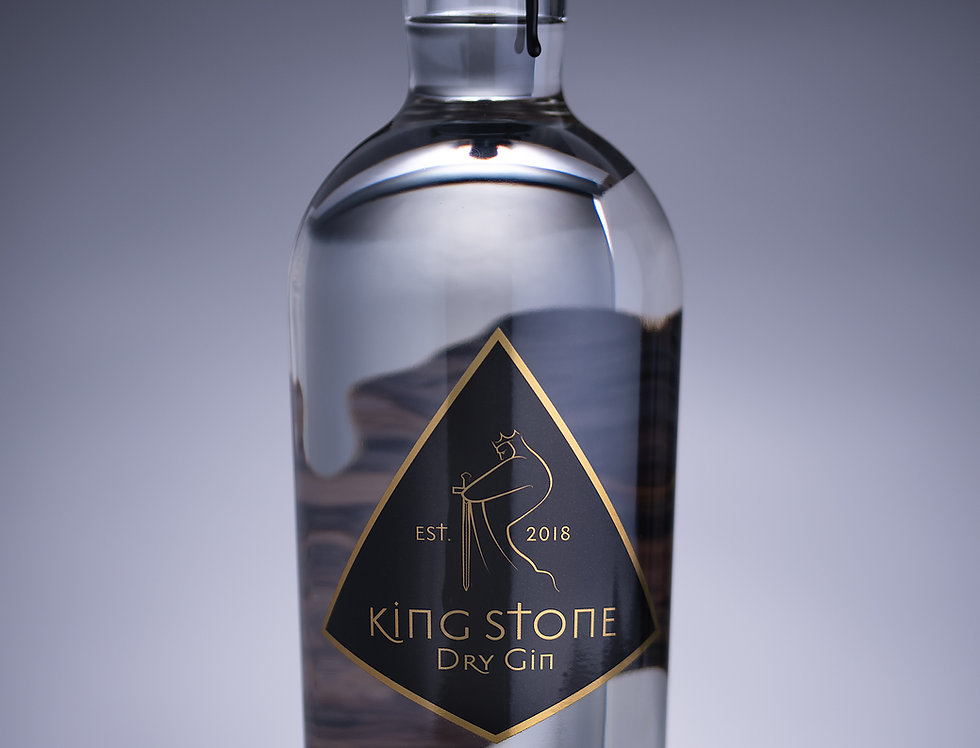 King Stone Gin 70cl 43%abv