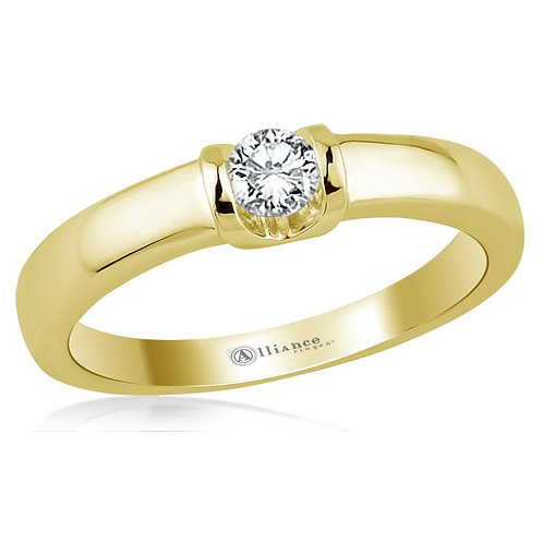 S1015 0,05ct Alliance solitarring briljant