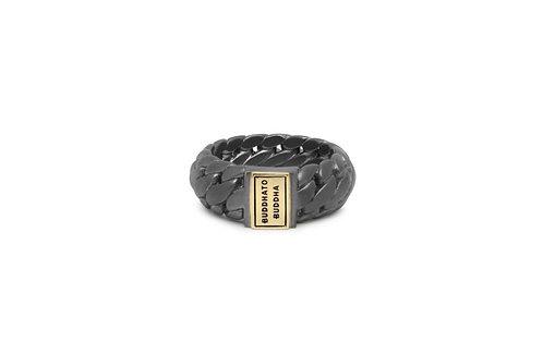 542BRG Buddha to Buddha Ben small ring Gun Metal Gold