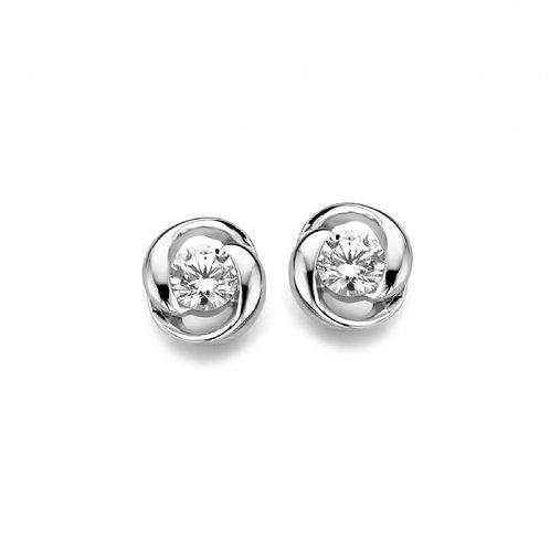 625657 Rosa di Luca zilveren oorsieraden