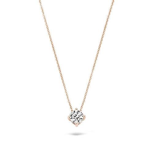 3057RZI Blush collier roségoud zirconia