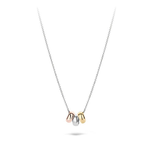 3055WYR Blush collier bicolor ringetjes