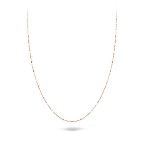 3046RGO/42 Blush collier roségoud 42cm