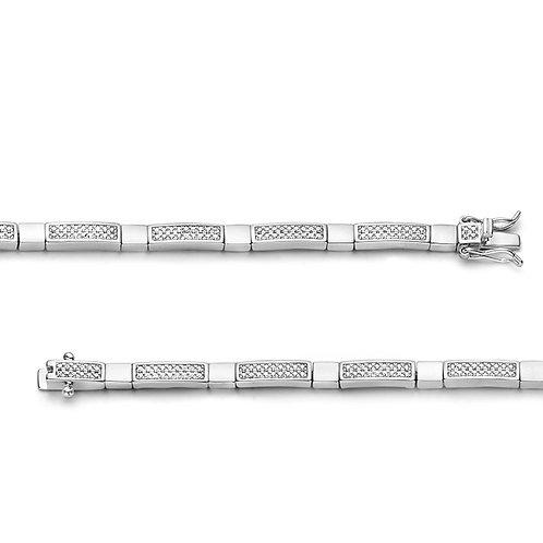 62336919 Rosa di Luca zilveren armband zirconia