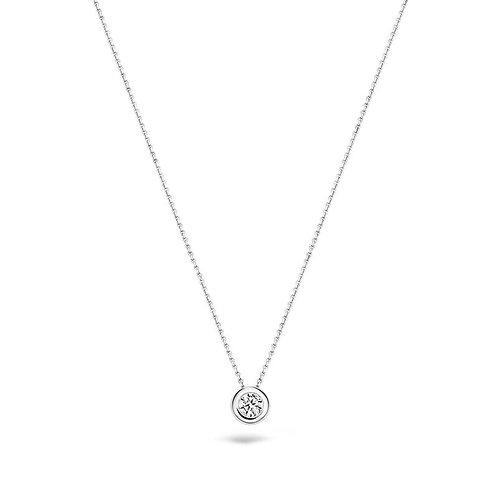 3052WZI Blush collier witgoud zirconia