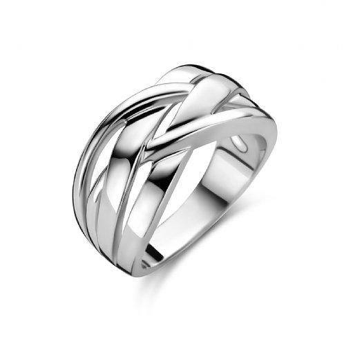 629645 Rosa di Luca zilveren ring