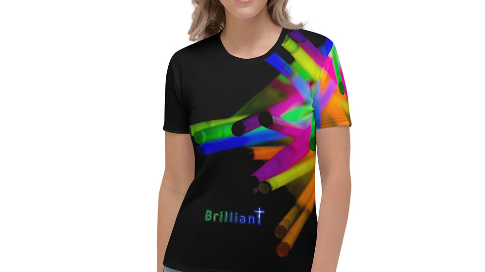 Brilliant (All Over Print) - Women's T-shirt