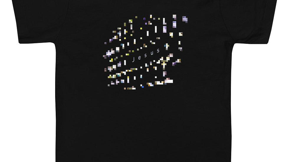 Jesus Pixelated - Toddler Short Sleeve Tee