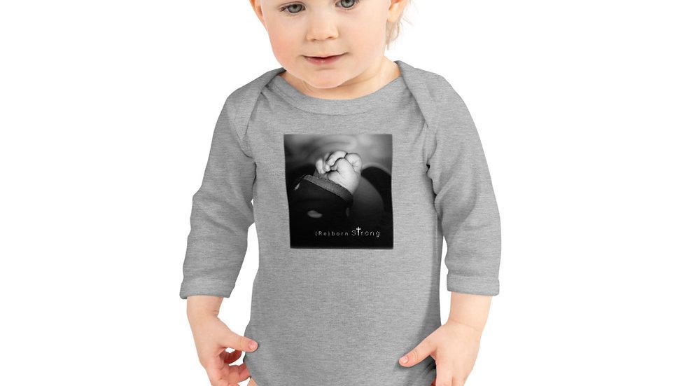(Re)born Strong - Infant Long Sleeve Bodysuit