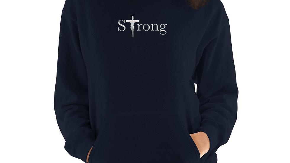 Strong - Unisex Hoodie - Dark W/ Light Text