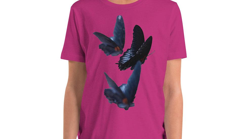 Butterflies - Youth Short Sleeve T-Shirt
