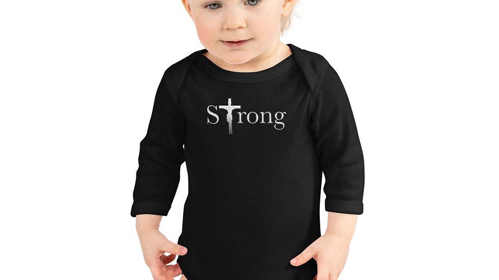 Strong - Infant Long Sleeve Bodysuit