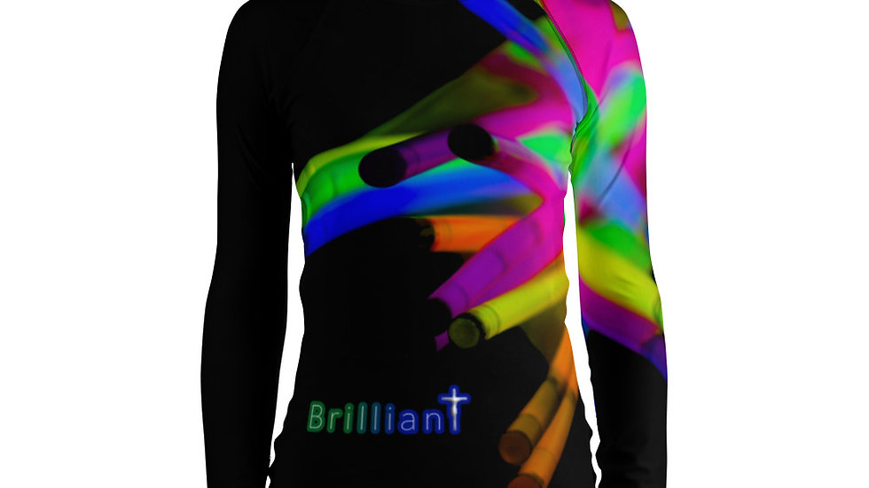 Brilliant (All Over Print) - Women's Rash Guard