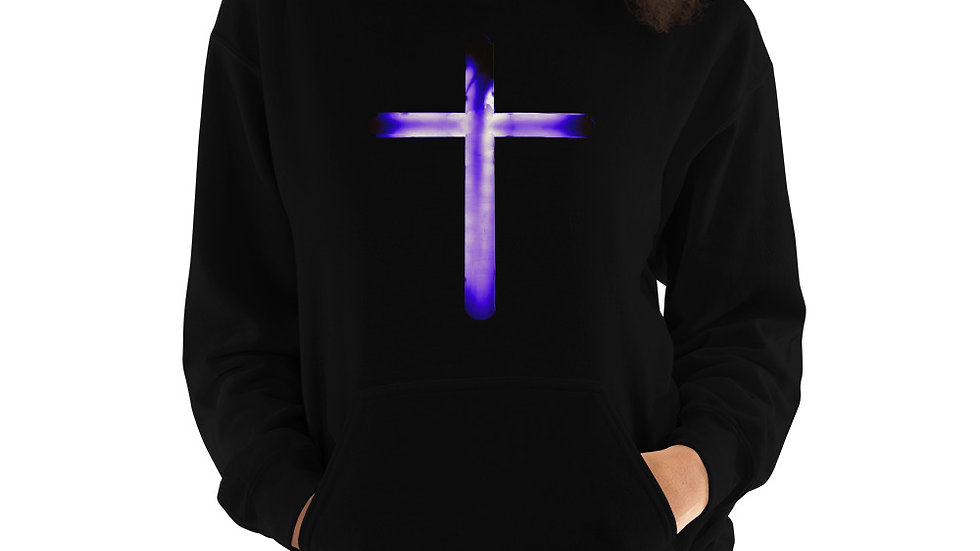 Glowing Crucifix - Unisex Hoodie