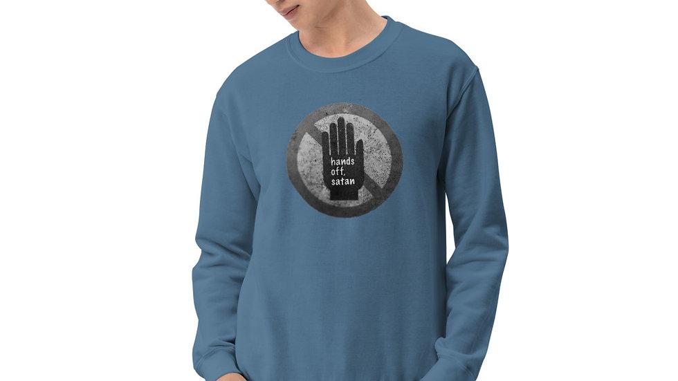Hands off, satan - Unisex Sweatshirt