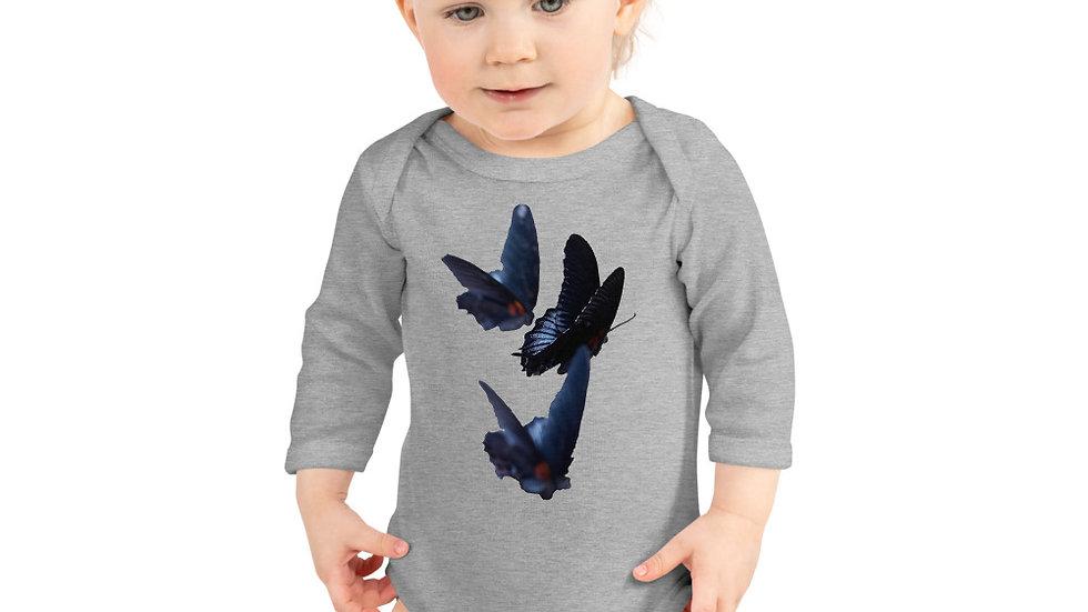 Butterflies - Infant Long Sleeve Bodysuit