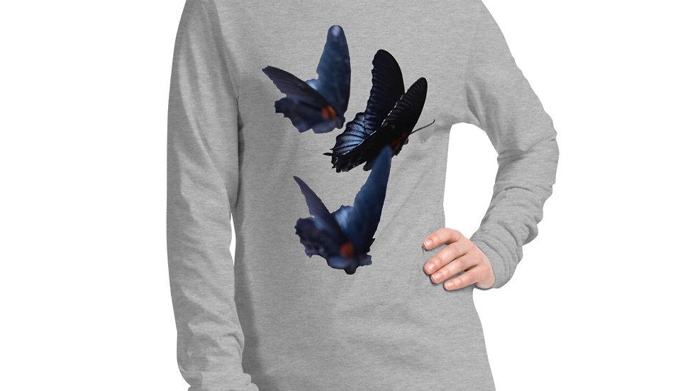 Butterflies - Unisex Long Sleeve Tee