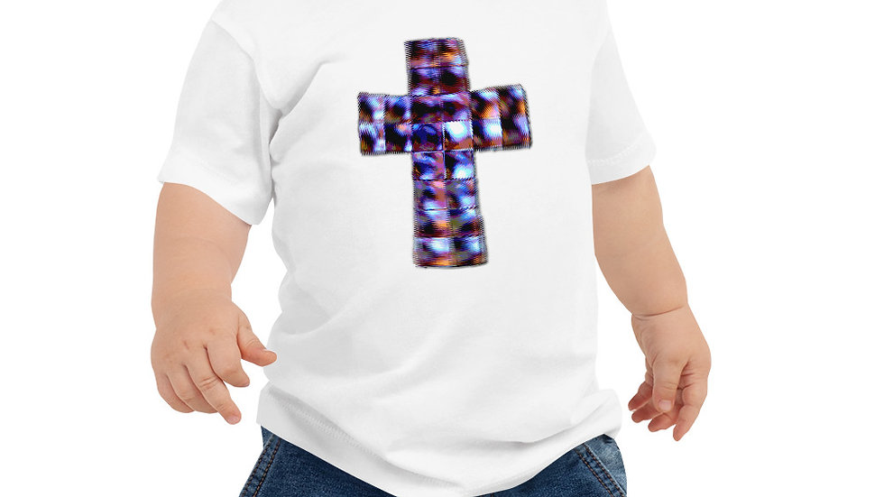Crucifix - Baby Jersey Short Sleeve Tee