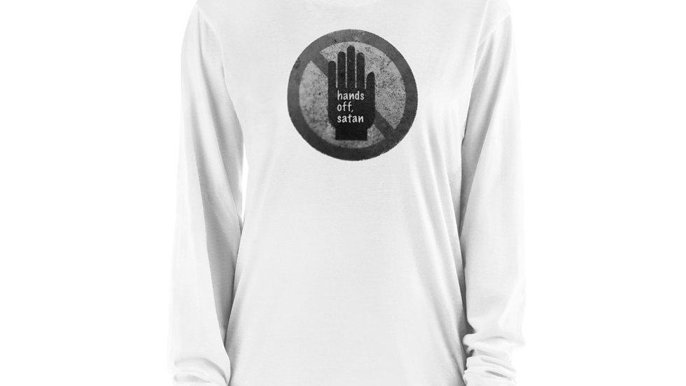 Hands off, satan - Long sleeve t-shirt