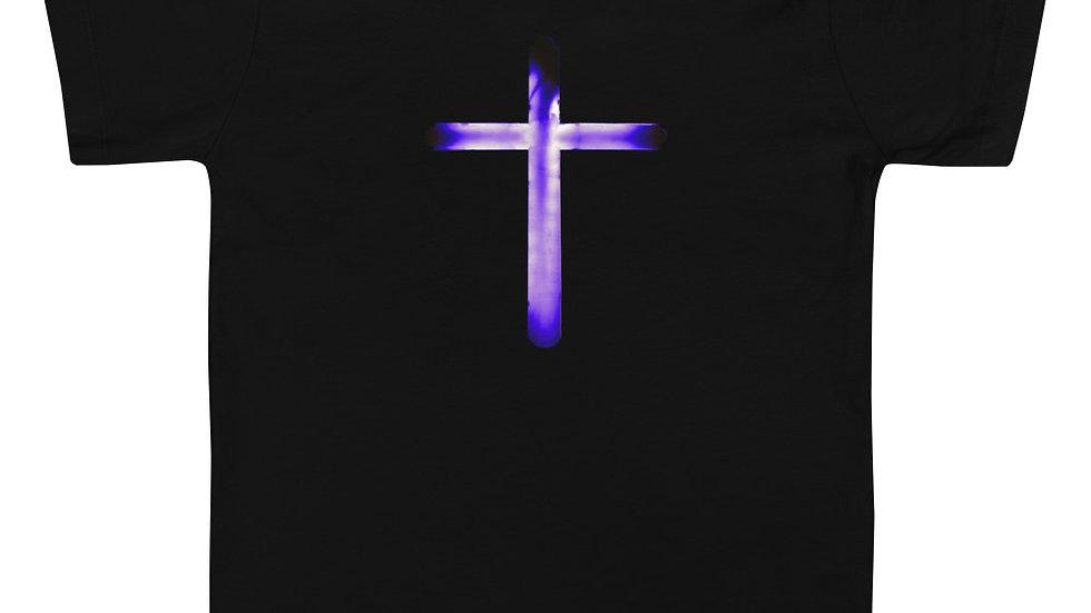 Glowing Crucifix - Toddler Short Sleeve Tee