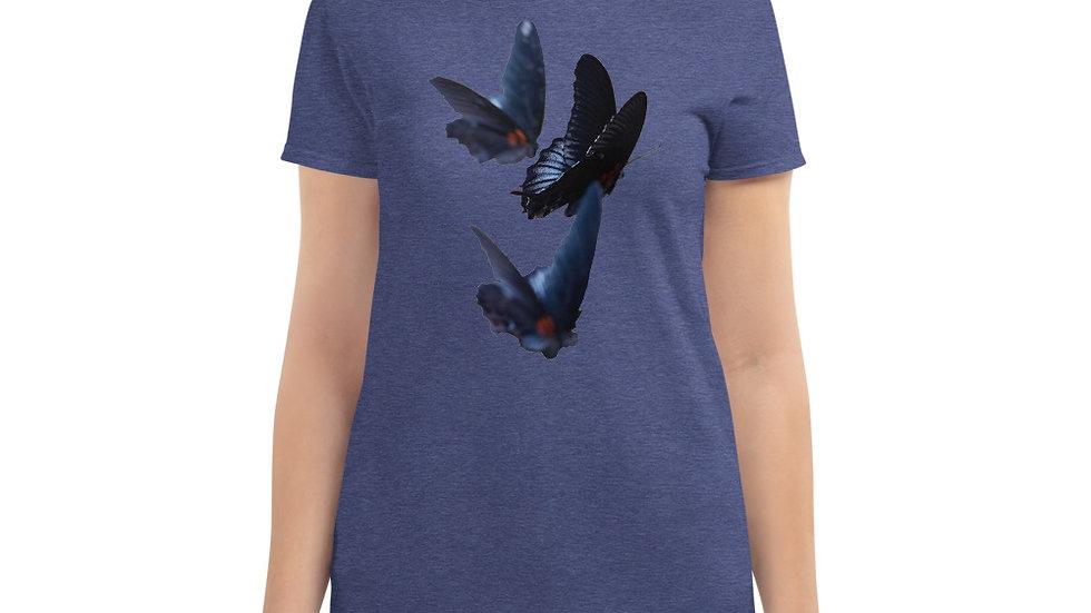 Butterflies - Women's short sleeve t-shirt