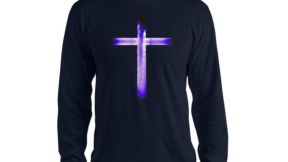 Glowing Crucifix - Long sleeve t-shirt