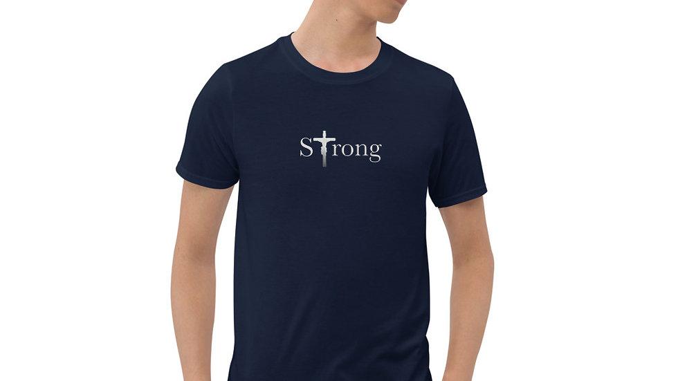 Strong - Short-Sleeve Unisex T-Shirt - Dark W/ Light Text