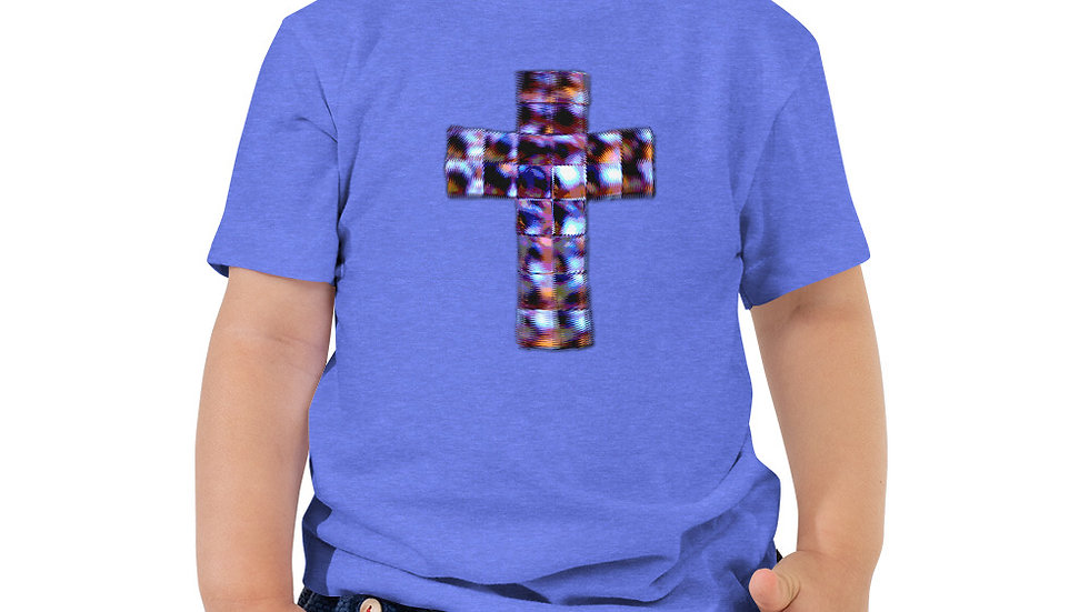 Crucifix - Toddler Short Sleeve Tee