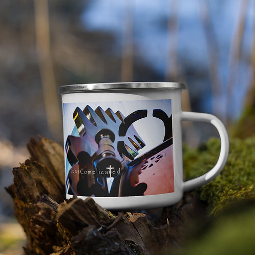 (Un)Complicated - Enamel Mug