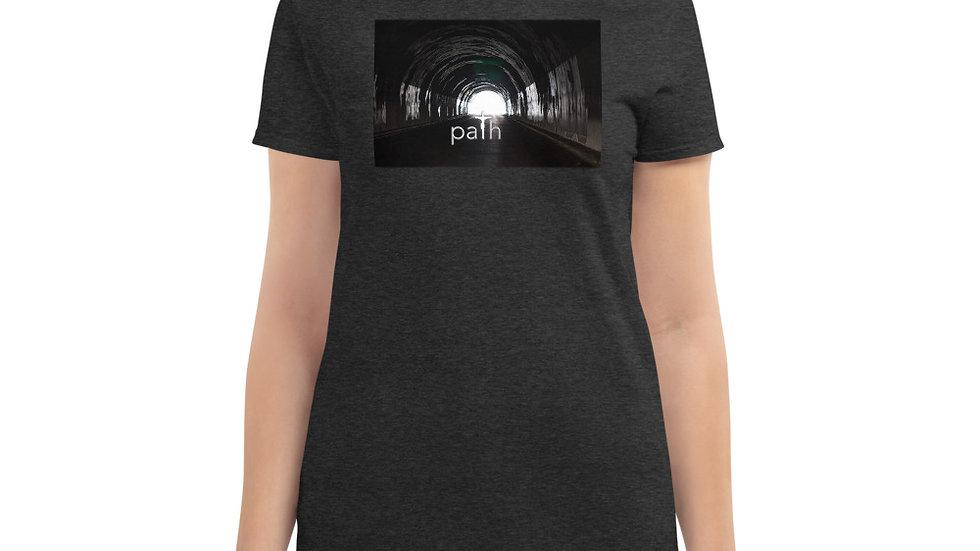 Path - Women's short sleeve t-shirt