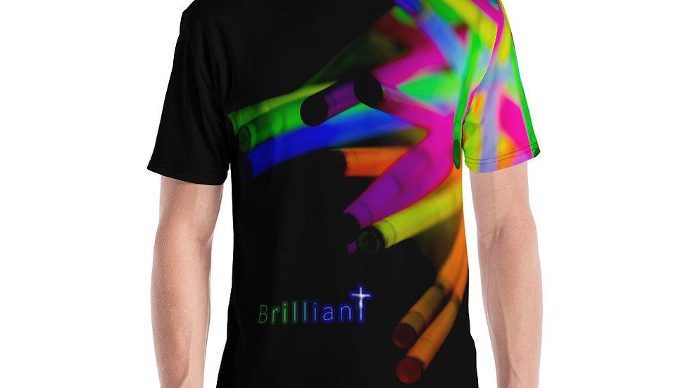 Brilliant (All Over Print) - Men's T-shirt