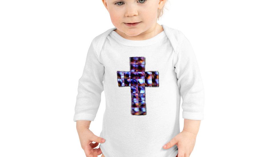 Crucifix - Infant Long Sleeve Bodysuit