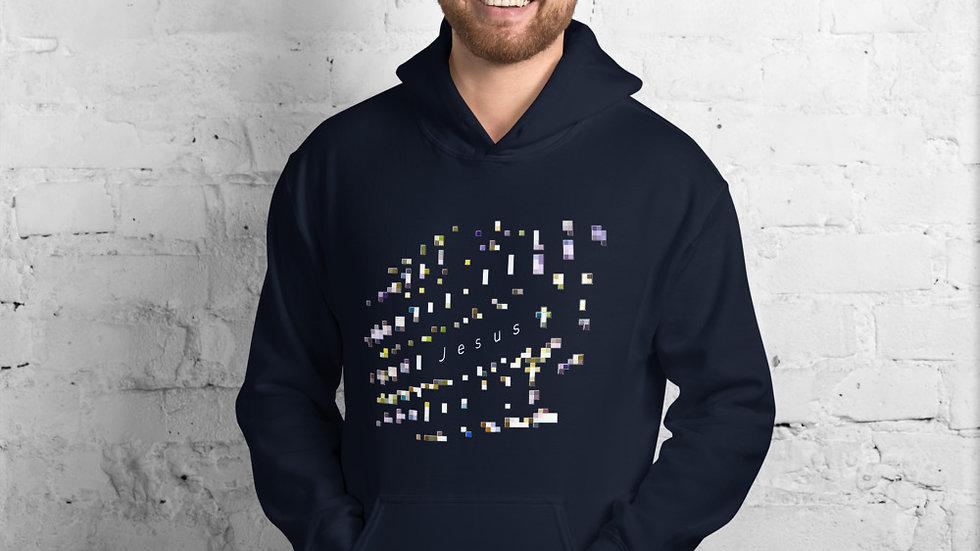 Jesus Pixelated - Unisex Hoodie