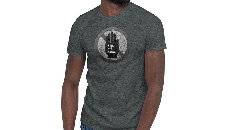 Hands off, satan - Short-Sleeve Unisex T-Shirt