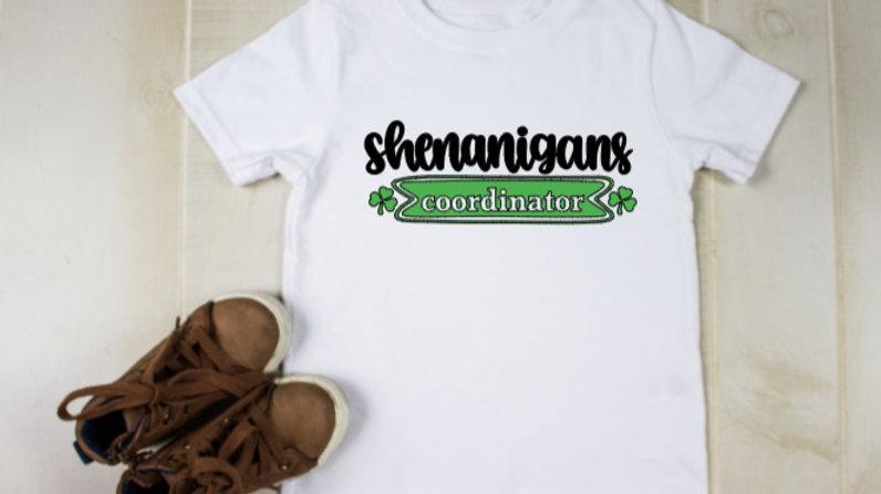 St Paddy's Day Shenanigan's Shirts