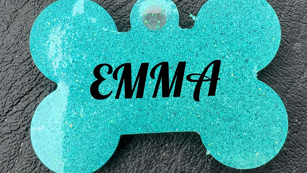 """Personalized pet name tag - 1"""""""