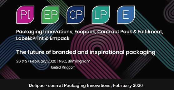 Packaging Innovations 2020 banner seen a