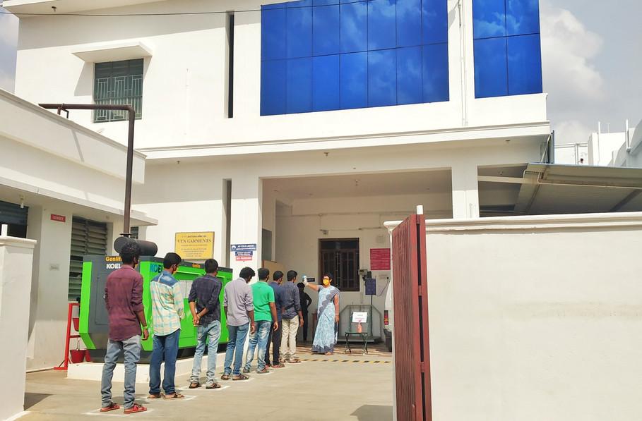 Employee Screening at Unit 1
