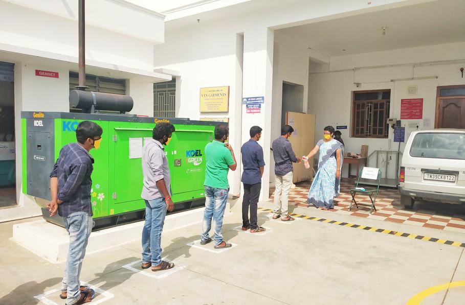 Employee Entry Screening
