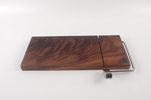 Crotched Black Walnut Cheese Slicer