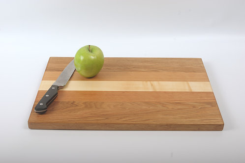 Elegant Cutting Board with Butternut, Cherry and Maple