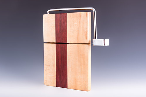 Quartersawn Maple and Bloodwood Cheese Slicer