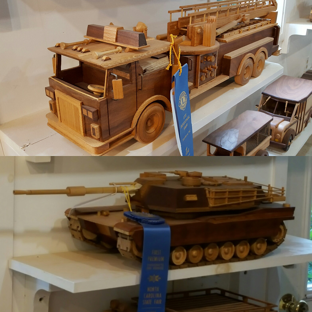 2 of my dad's blue ribbon masterpieces