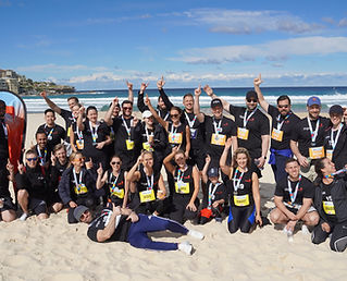 MPA team fundraising for Redkite at City2Surf 2019